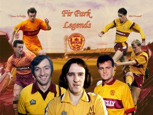 legends/fir park legends montage print